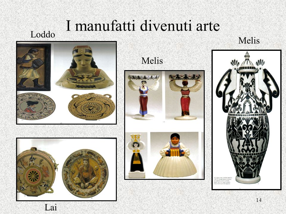 I manufatti divenuti arte