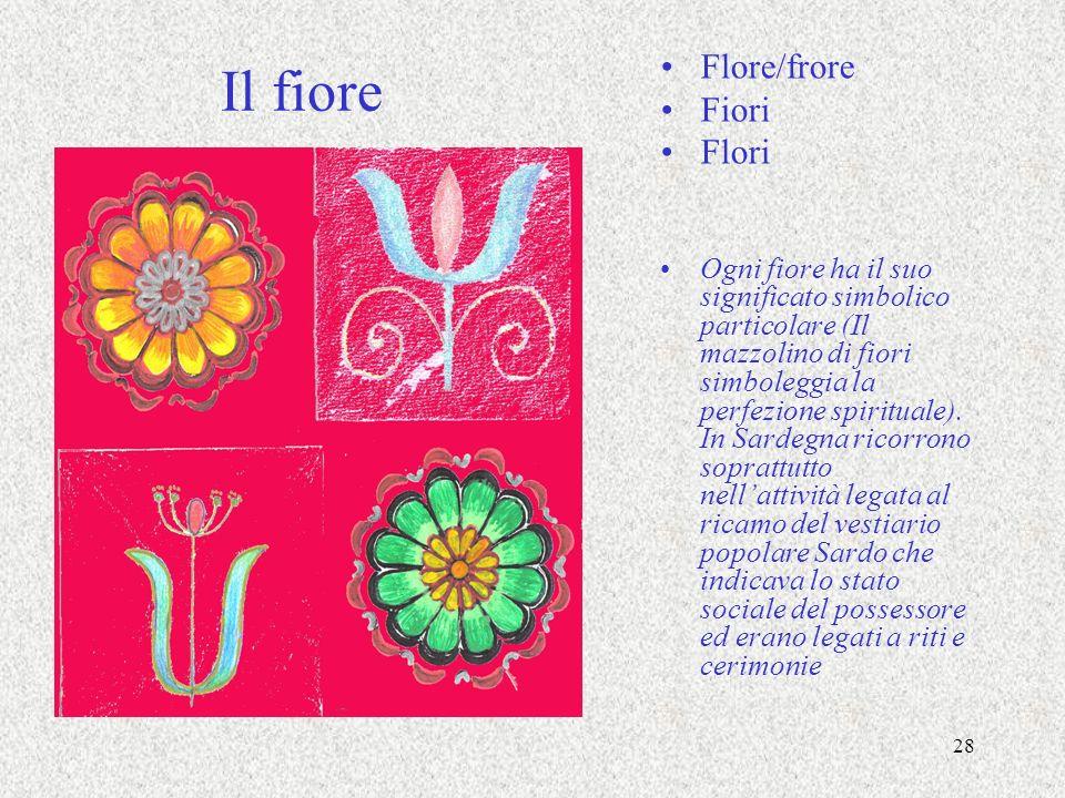 Il fiore Flore/frore Fiori Flori