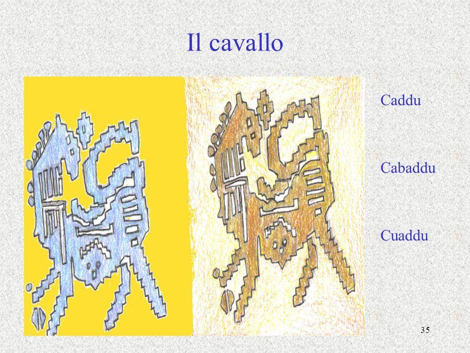 Il cavallo Caddu Cabaddu Cuaddu