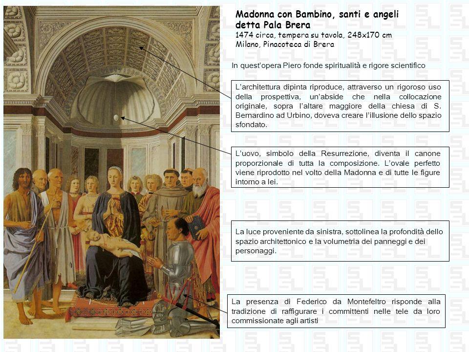 Madonna con Bambino, santi e angeli detta Pala Brera