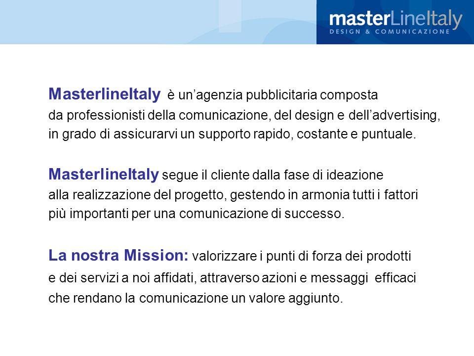 MasterlineItaly è un'agenzia pubblicitaria composta