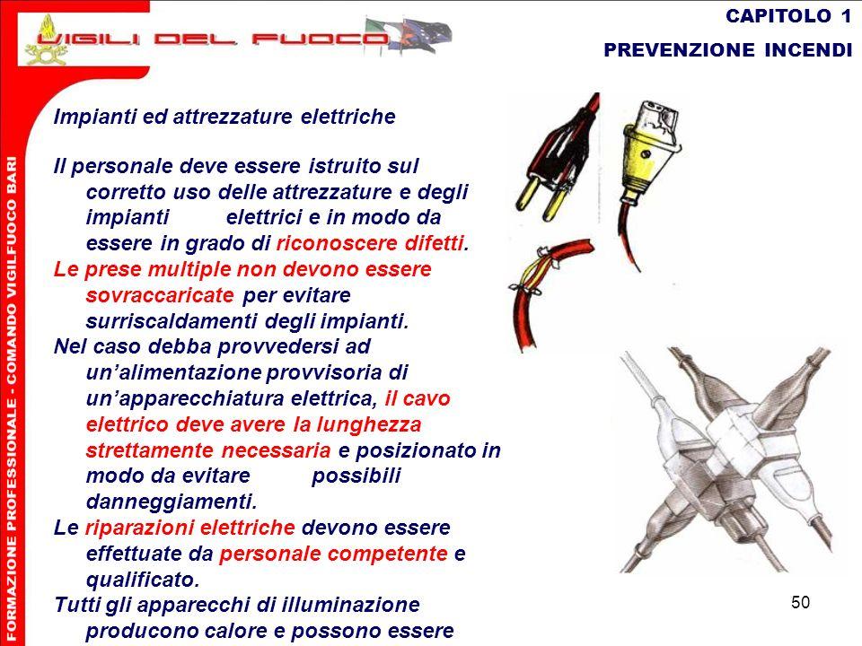 Impianti ed attrezzature elettriche