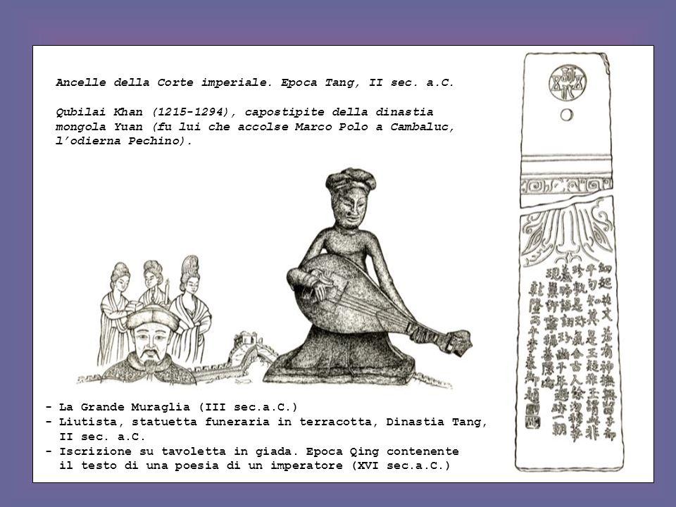 Ancelle della Corte imperiale. Epoca Tang, II sec. a.C.