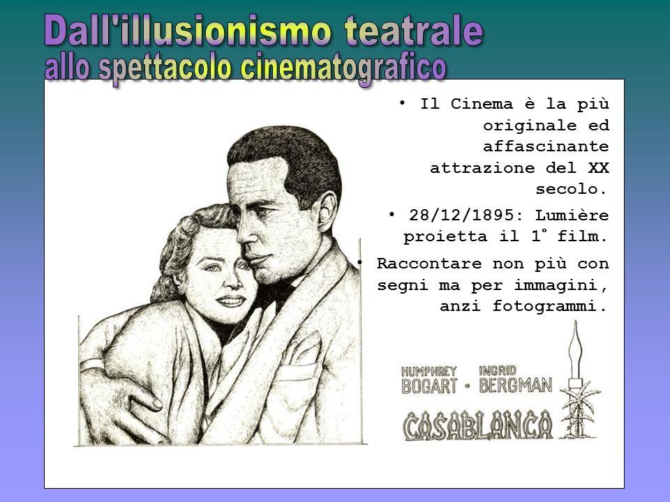 Dall illusionismo teatrale allo spettacolo cinematografico