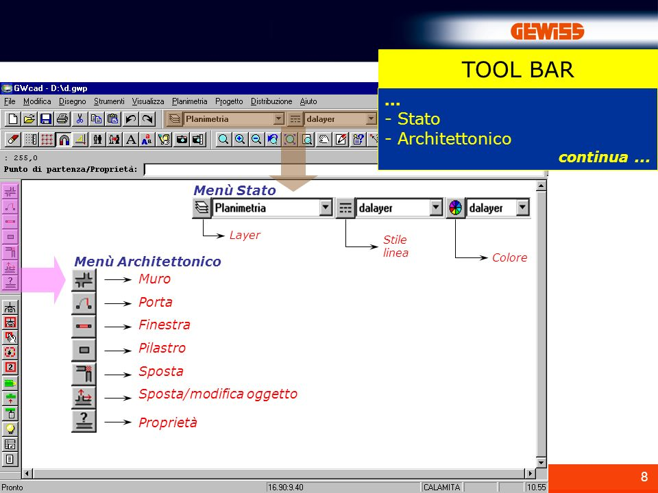 A cosa serve gwcad e un software di semplice utilizzo for Software di piano architettonico