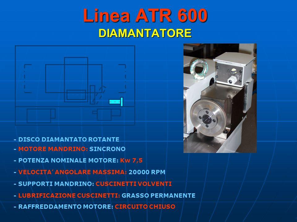 Linea ATR 600 DIAMANTATORE