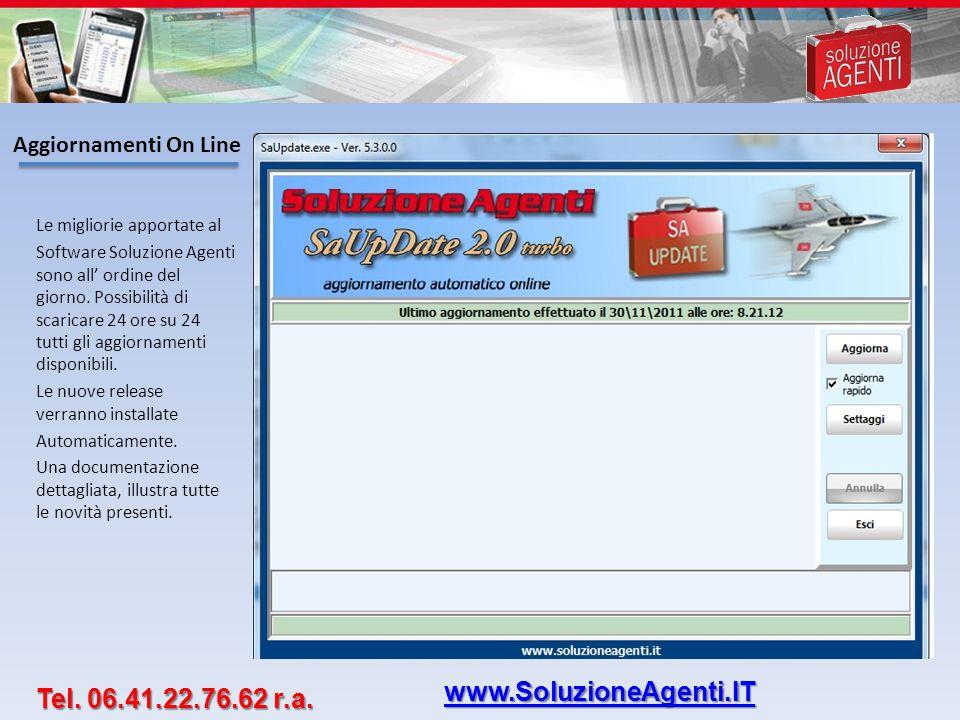 www.SoluzioneAgenti.IT Tel. 06.41.22.76.62 r.a. Aggiornamenti On Line