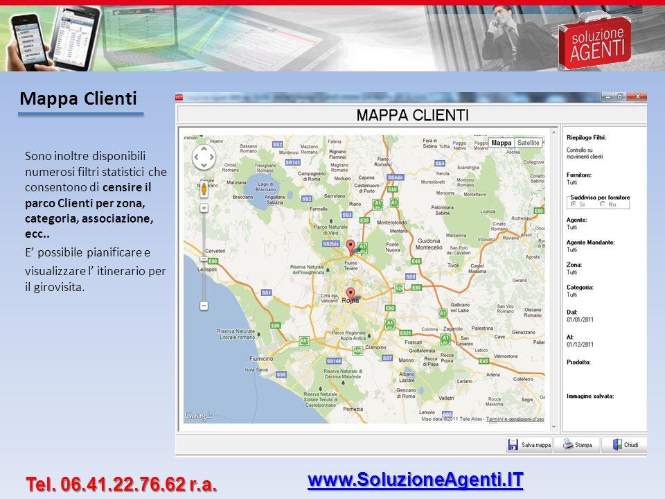 Mappa Clienti www.SoluzioneAgenti.IT Tel. 06.41.22.76.62 r.a.