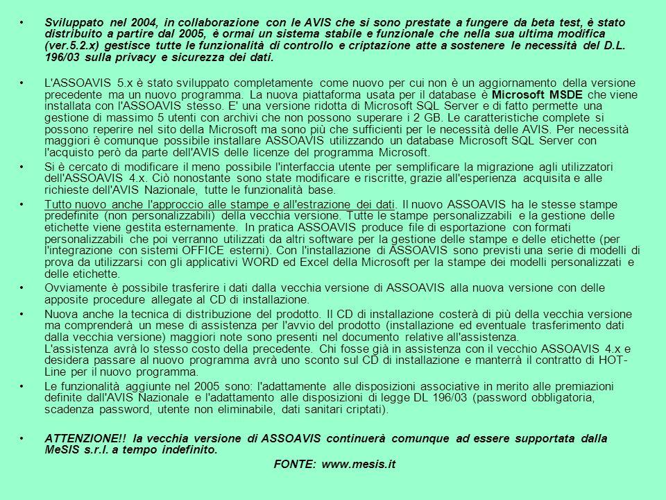 Programma per la gestione associativa versione 5 x ppt for Aggiunte di legge