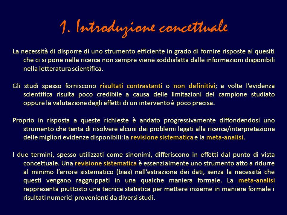 1. Introduzione concettuale