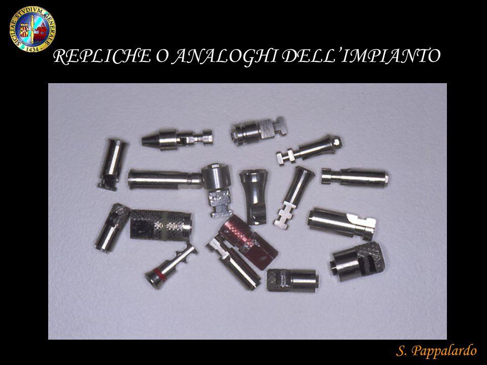 REPLICHE O ANALOGHI DELL'IMPIANTO