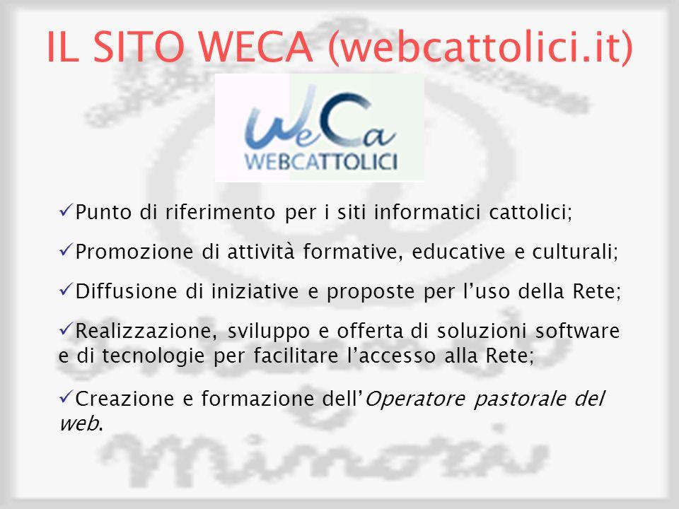 IL SITO WECA (webcattolici.it)