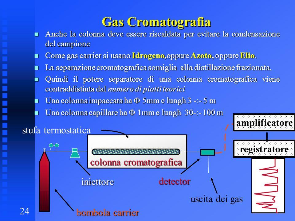 Gas Cromatografia amplificatore stufa termostatica registratore