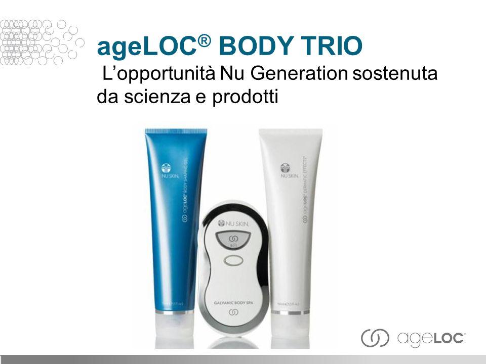 ageLOC® BODY TRIO L'opportunità Nu Generation sostenuta da scienza e prodotti
