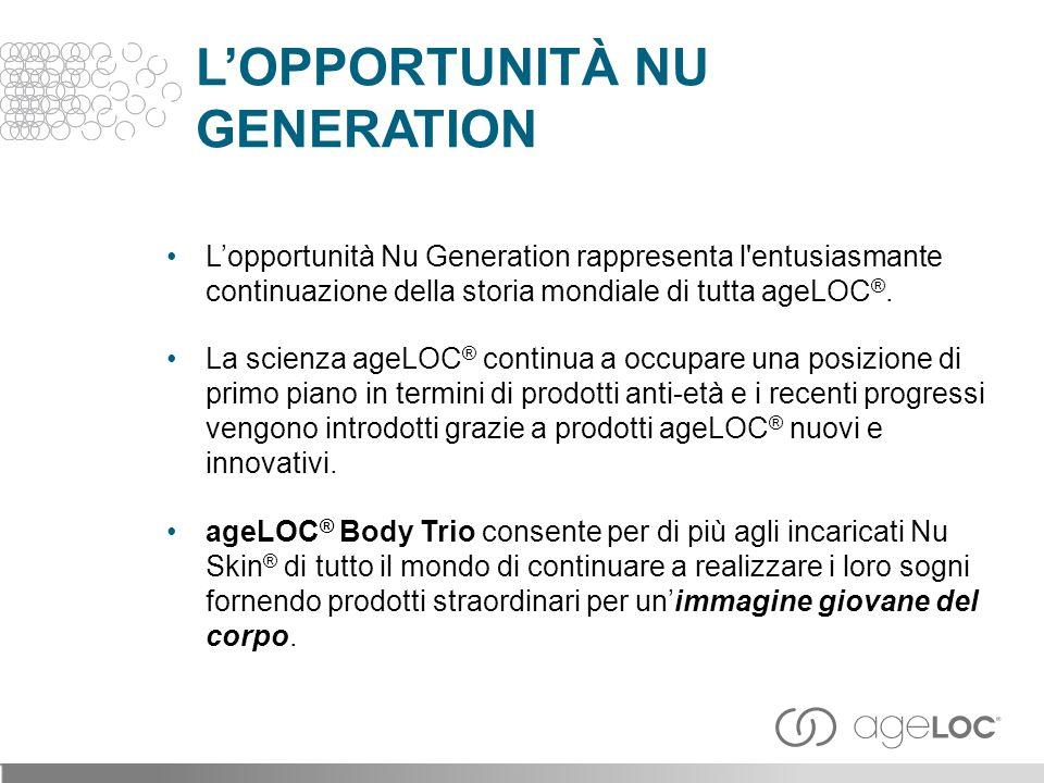 L'OPPORTUNITÀ NU GENERATION