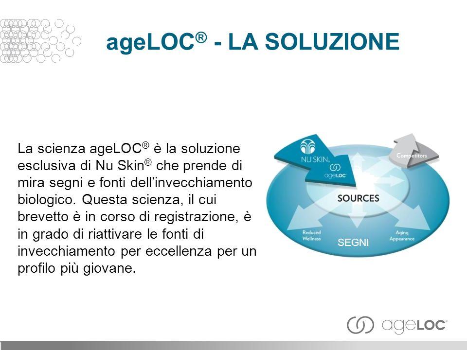 ageLOC® - LA SOLUZIONE