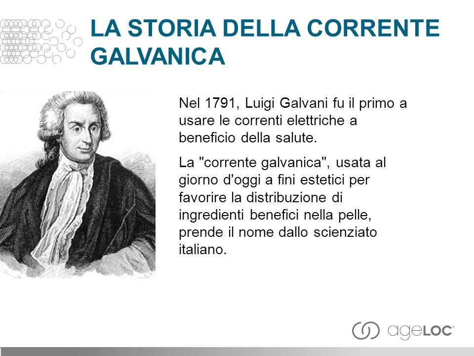 LA STORIA DELLA CORRENTE GALVANICA