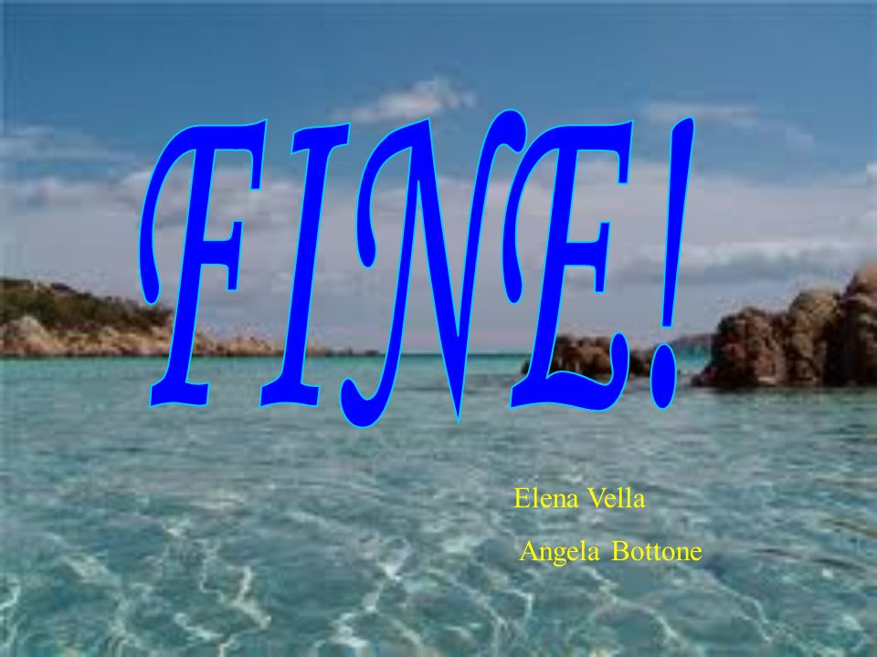 FINE! Elena Vella Angela Bottone