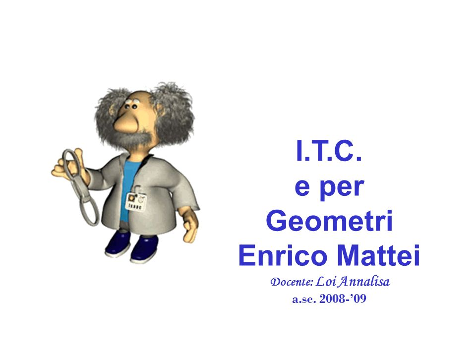 I.T.C. e per Geometri Enrico Mattei