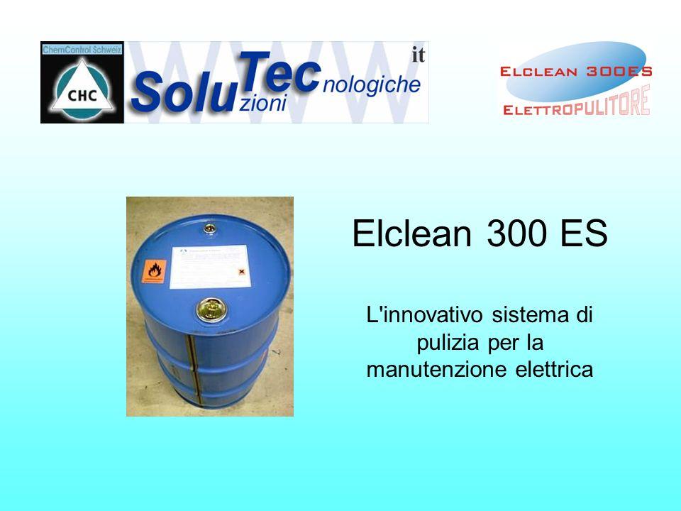 Elclean 300 ES L innovativo sistema di pulizia per la manutenzione elettrica