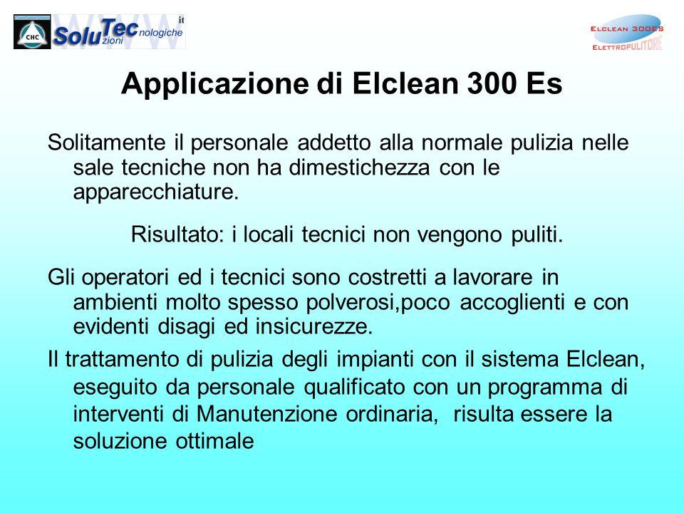 Applicazione di Elclean 300 Es
