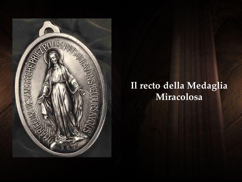 Il recto della Medaglia Miracolosa