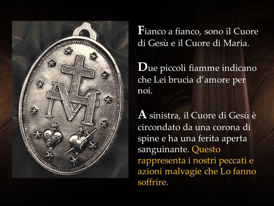 Fianco a fianco, sono il Cuore di Gesù e il Cuore di Maria