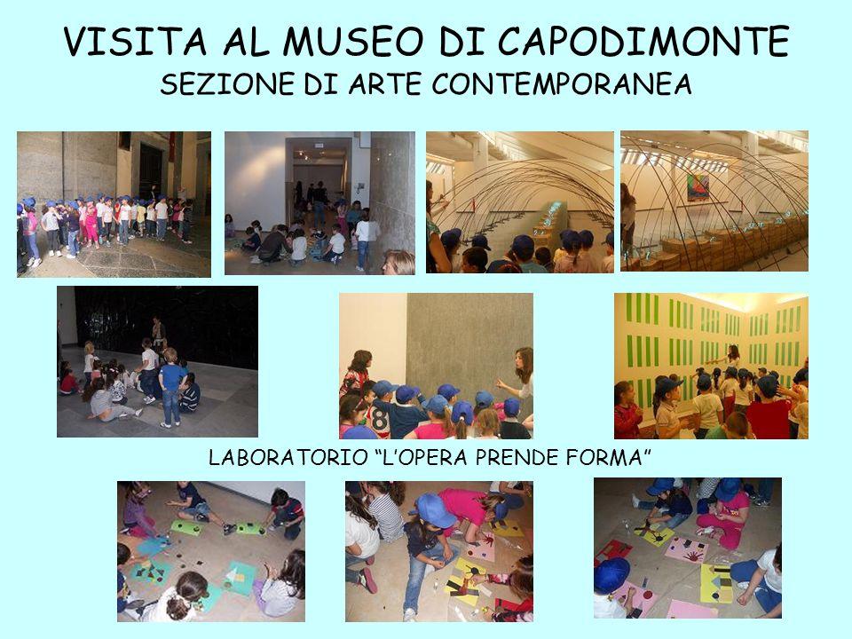 VISITA AL MUSEO DI CAPODIMONTE SEZIONE DI ARTE CONTEMPORANEA