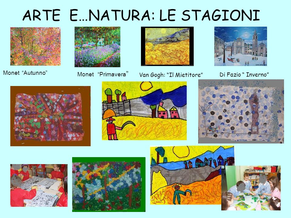 ARTE E…NATURA: LE STAGIONI