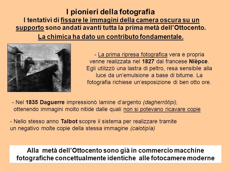 I pionieri della fotografia