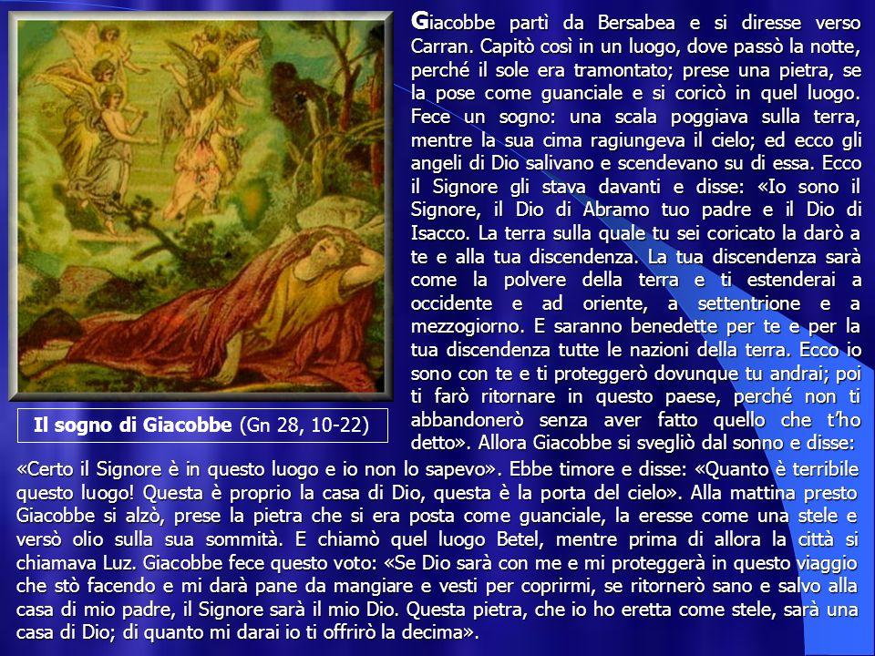 Il sogno di Giacobbe (Gn 28, 10-22)