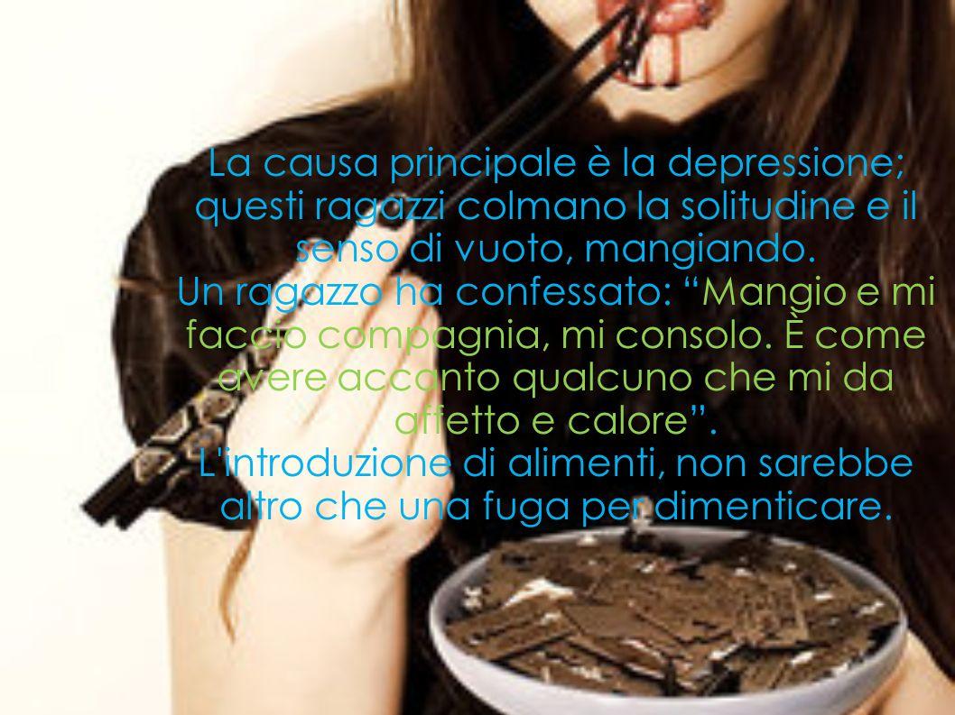 La causa principale è la depressione;
