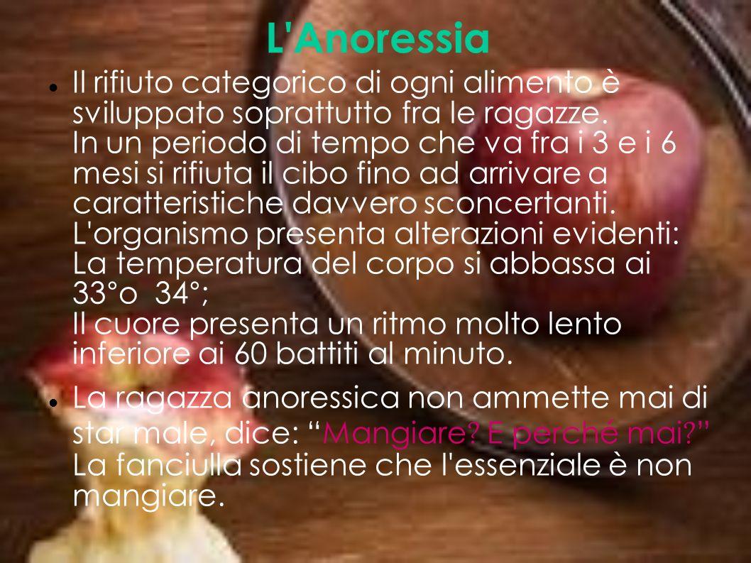 L Anoressia