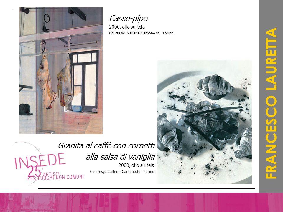 FRANCESCO LAURETTA Casse-pipe Granita al caffè con cornetti