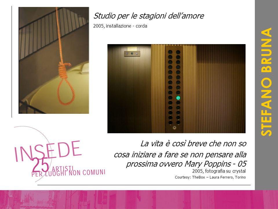STEFANO BRUNA Studio per le stagioni dell'amore