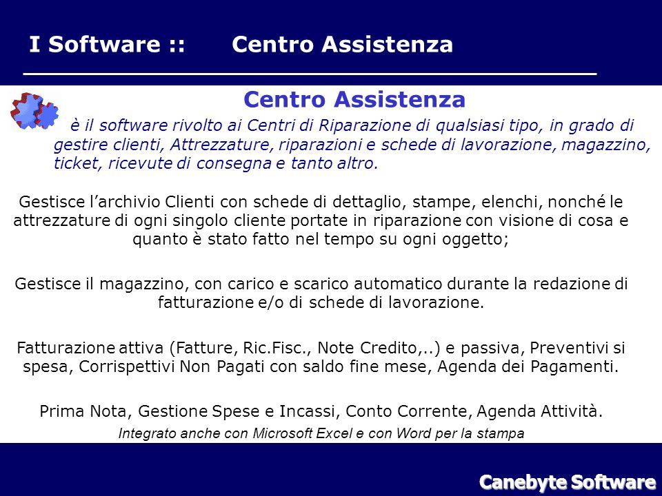 I Software :: Centro Assistenza