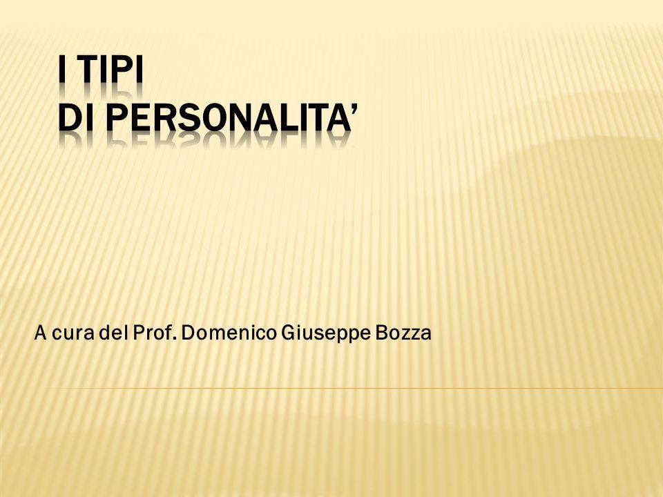 A cura del Prof. Domenico Giuseppe Bozza
