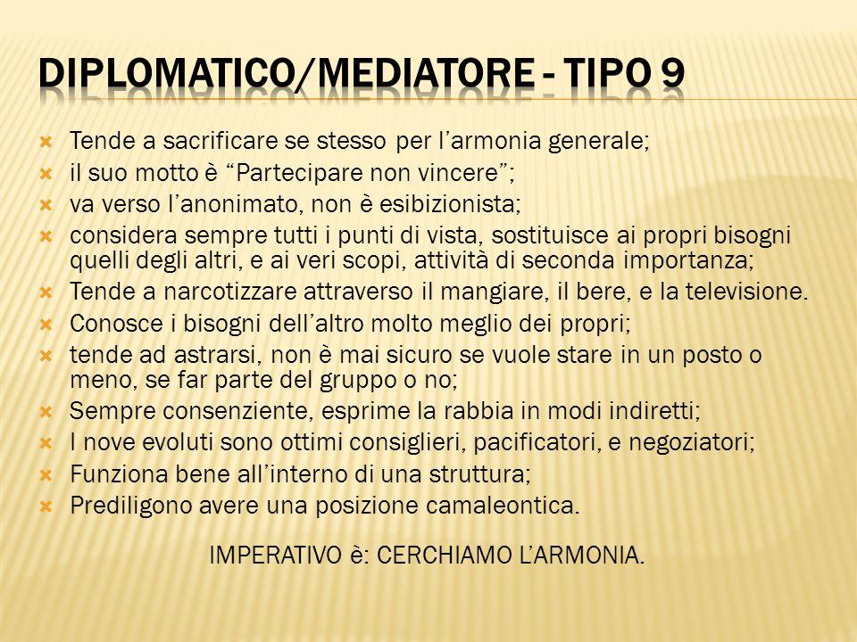 Diplomatico/Mediatore - tipo 9