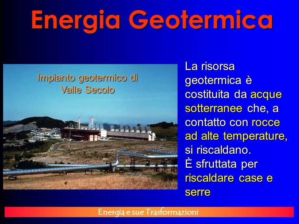 Impianto geotermico di Valle Secolo
