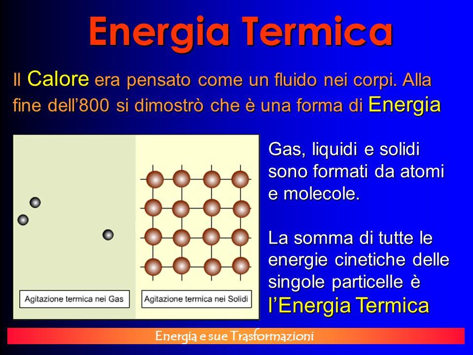 Energia Termica l'Energia Termica