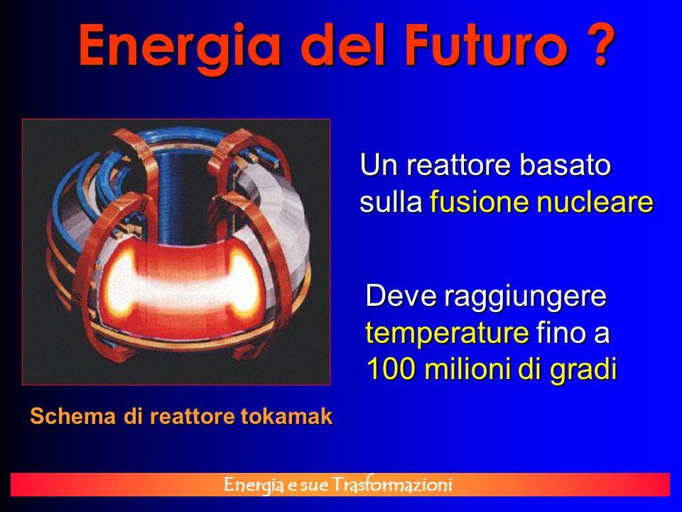 Energia del Futuro Un reattore basato sulla fusione nucleare