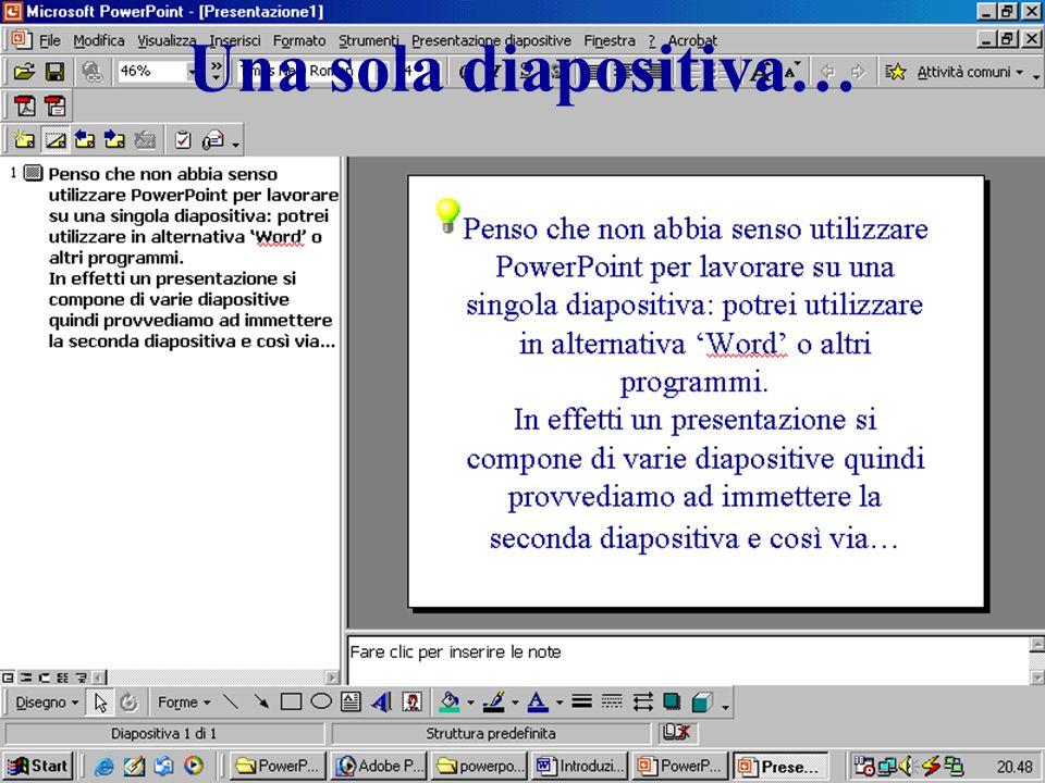 Una sola diapositiva… http://www.gaspareonline.it/