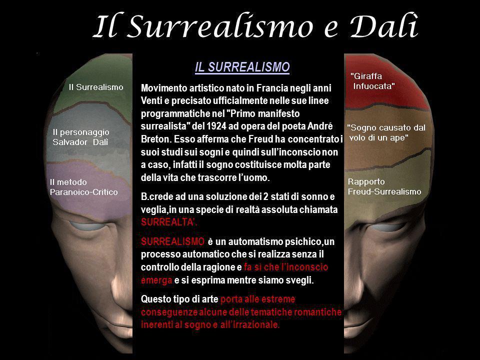 Il Surrealismo e Dalì IL SURREALISMO