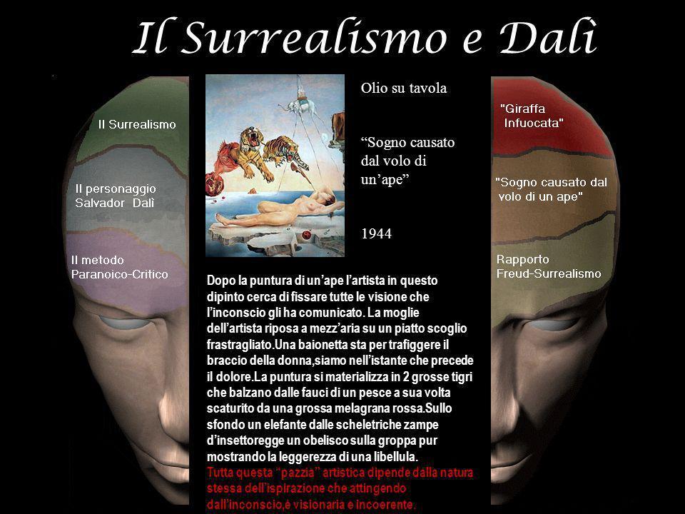 Il Surrealismo e Dalì Olio su tavola