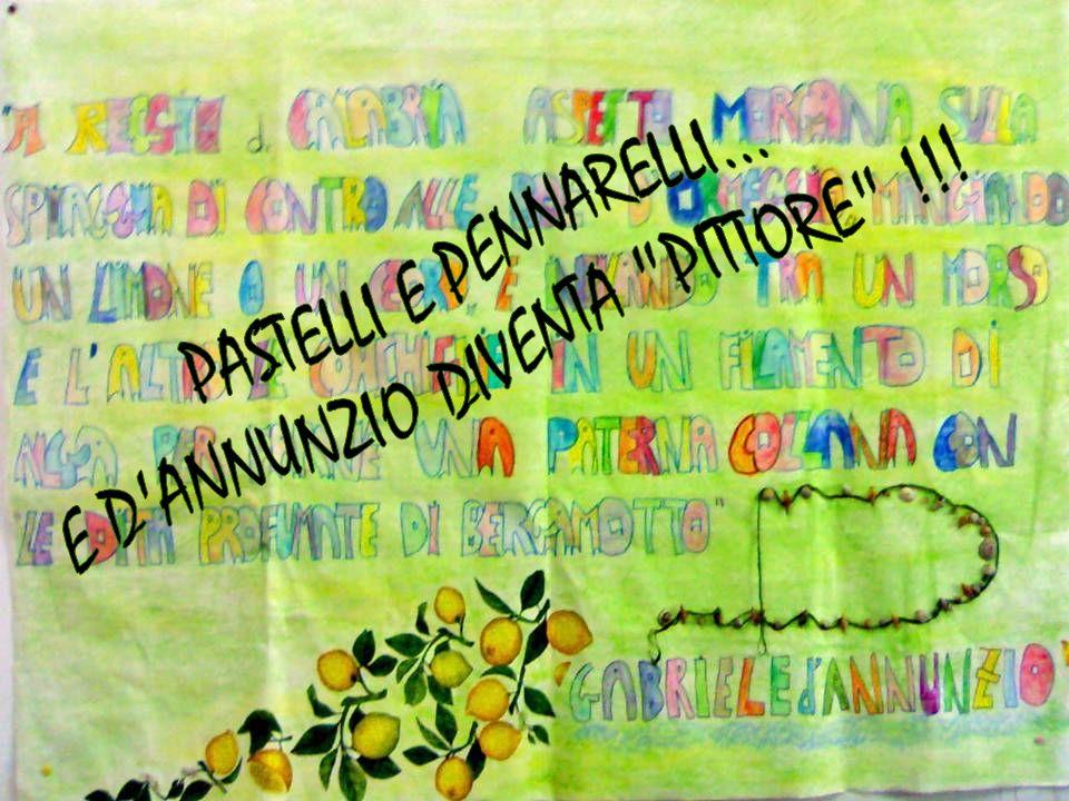 E D ANNUNZIO DIVENTA PITTORE !!!