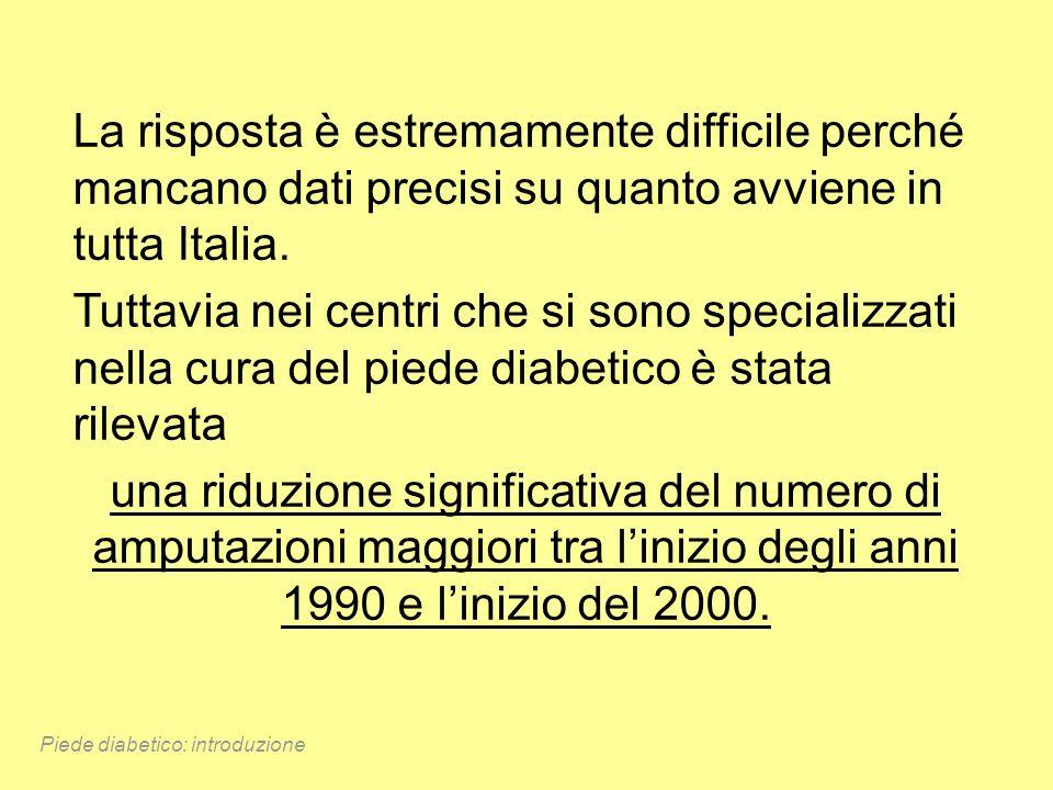 La risposta è estremamente difficile perché mancano dati precisi su quanto avviene in tutta Italia.