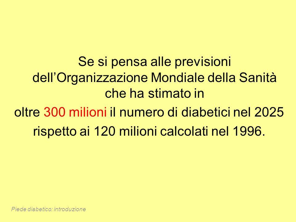 oltre 300 milioni il numero di diabetici nel 2025