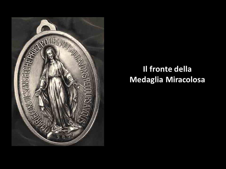 Il fronte della Medaglia Miracolosa