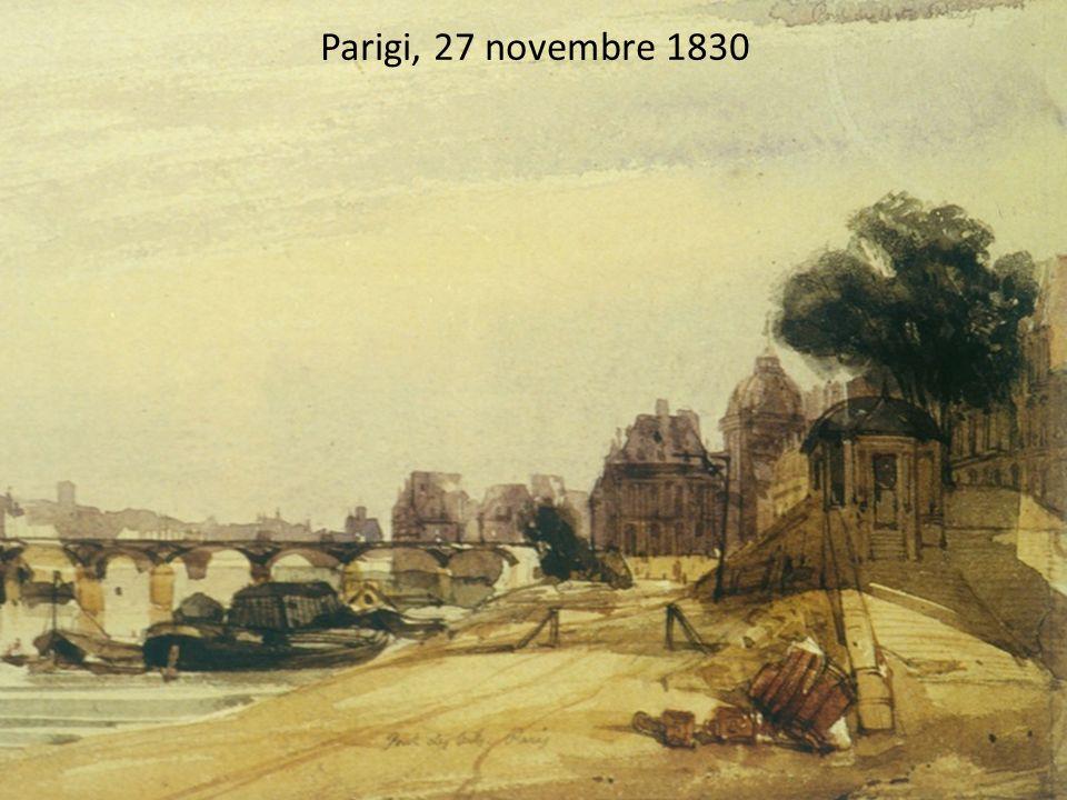 Parigi, 27 novembre 1830