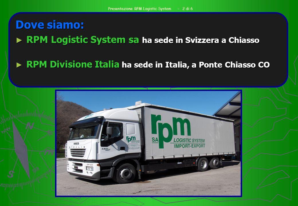 Presentazione RPM Logistic System - 2 di 6